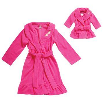 Dollie & Me Girls 4-14 Robe Set