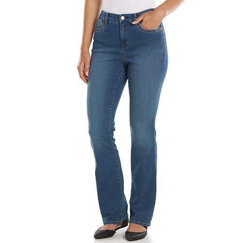 d194fc6be4b Gloria Vanderbilt Jordyn Curvy Denim Bootcut Jeans - Women's