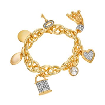 Jennifer Lopez Charm Stretch Bracelet