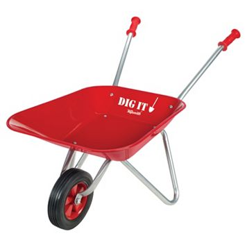Toysmith Little Red Metal Wheelbarrow