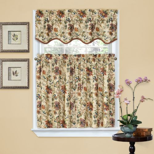 Waverly Felicite Tier Kitchen Window Curtain Set