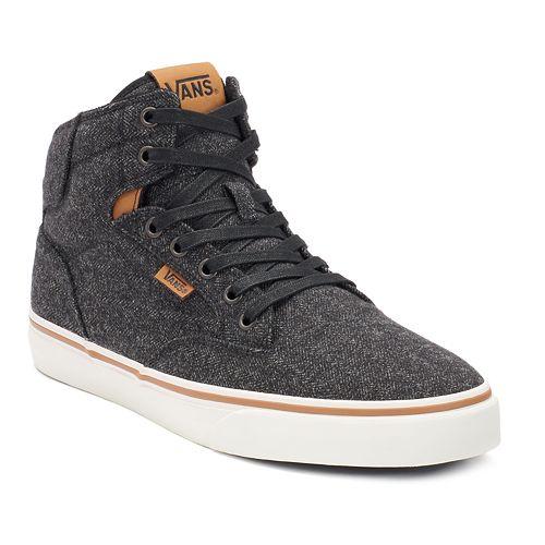 Vans Winston Men s High-Top Skate Shoes 07952ddb6