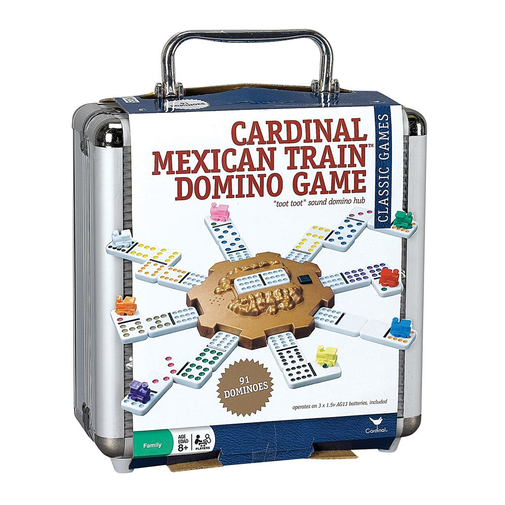 Cardinal Mexican Train Dominoes Game