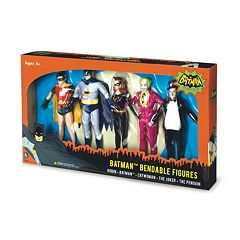 Batman Classic TV Series Bendable Boxed Set by NJ Croce