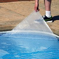 Blue Wave 12-mil Oval Above Ground Pool Solar Blanket