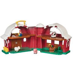Battat Farm House, Animals & Farmer Play Set by