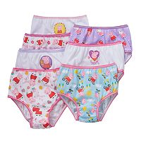 Peppa Pig Toddler Girl 7 pkBriefs