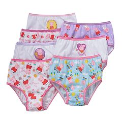 Peppa Pig Toddler Girl 7-pk. Briefs