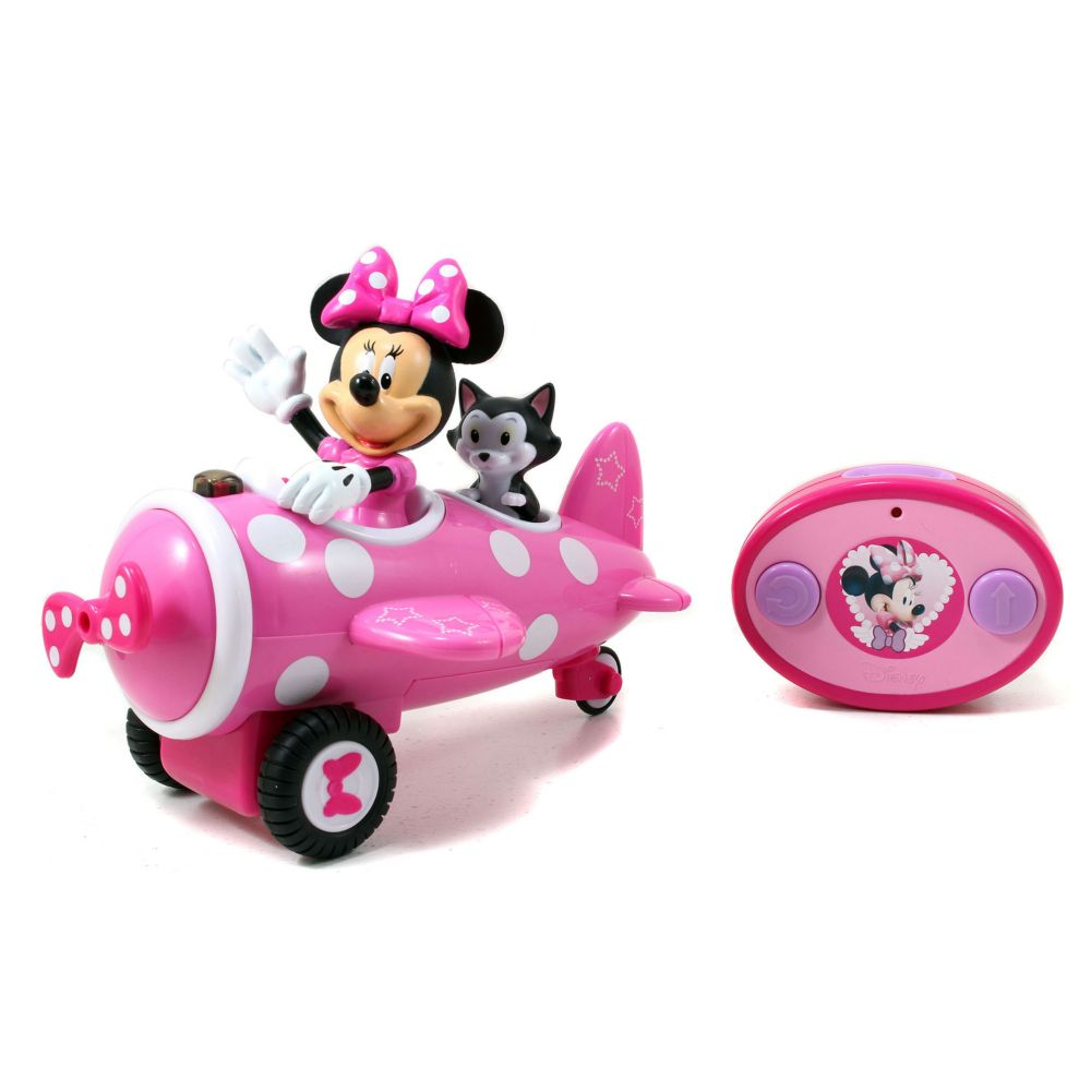 minnie mouse minnie remote control airplane