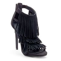 Candie's® Women's Fringe High Heels