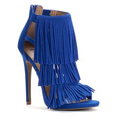 Candie's® Women's Fringe High Heels