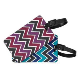 Travelon Chevron 2-Pack Luggage Tags