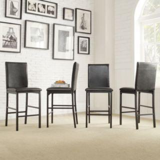 HomeVance 4-piece Catania Counter Chair Set