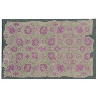 PANTONE UNIVERSE? Color Influence Eroded Ornate Floral Rug