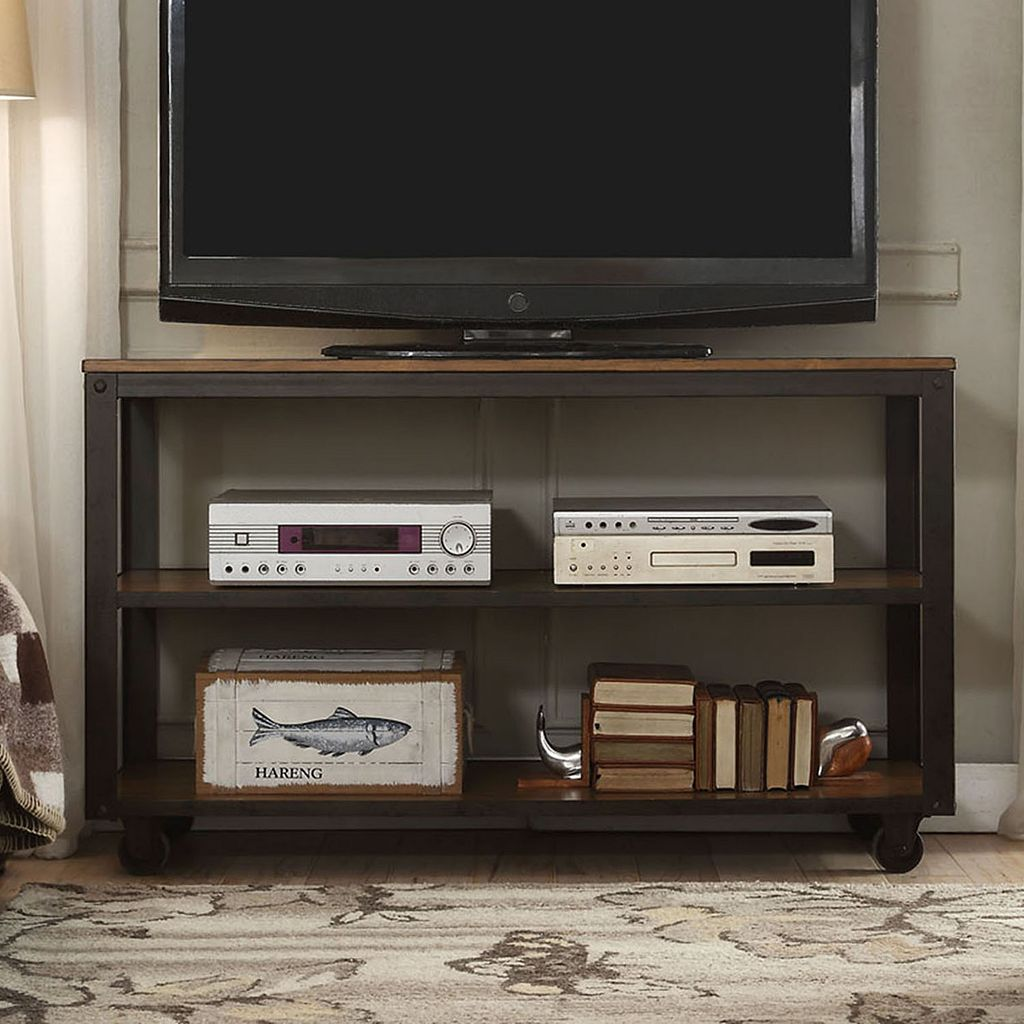HomeVance Stratton Industrial TV Stand