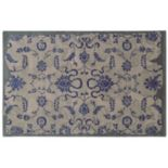 PANTONE UNIVERSE? Color Influence Eroded Ornate Floral Rug