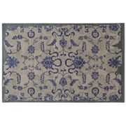 PANTONE UNIVERSE™ Color Influence Eroded Ornate Floral Rug