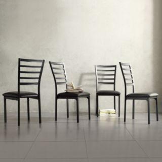 HomeVance 4-piece Stinson Dining Chair Set