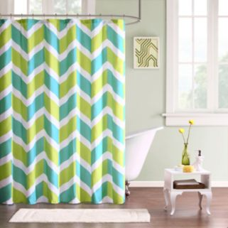 Mi Zone Holly Fabric Shower Curtain