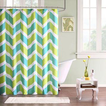 Mi Zone Holly Fabric Shower Curtain