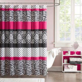 Mi Zone Gemma Fabric Shower Curtain