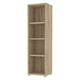 Structure 4-Shelf Narrow Bookcase