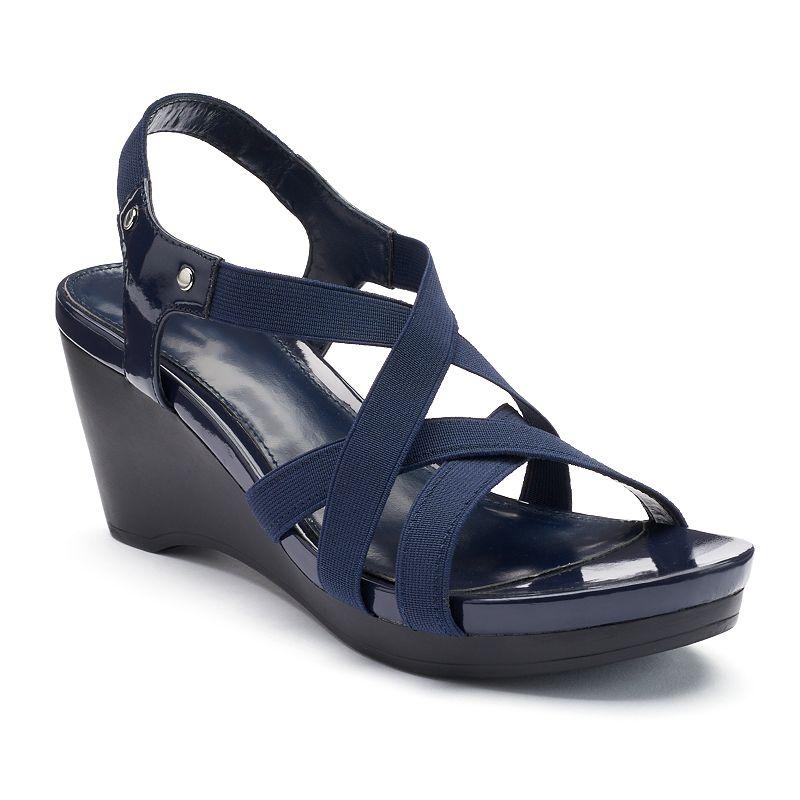 Navy Strappy Shoes Kohl S