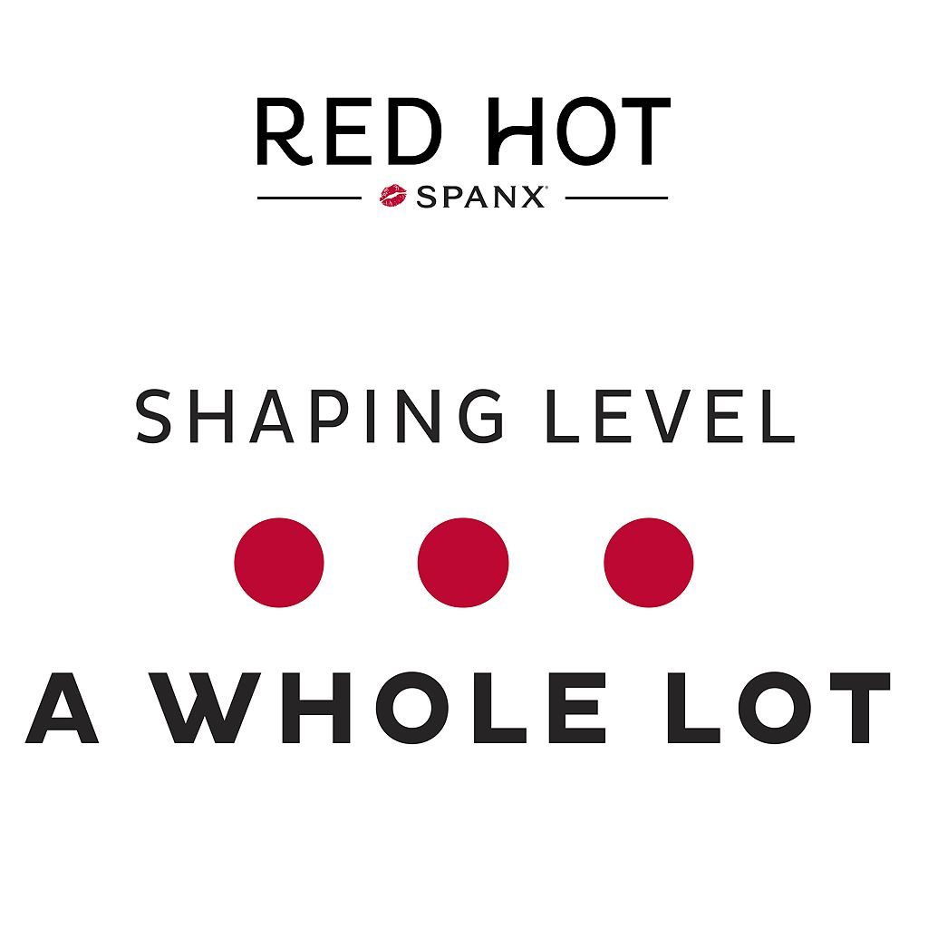 Red Hot by Spanx Flat Out Flawless High-Waist Mid-Thigh Body Shaper FS4015 - Women's