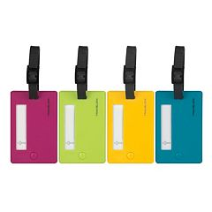 Travelon 4-Pack Luggage Tags