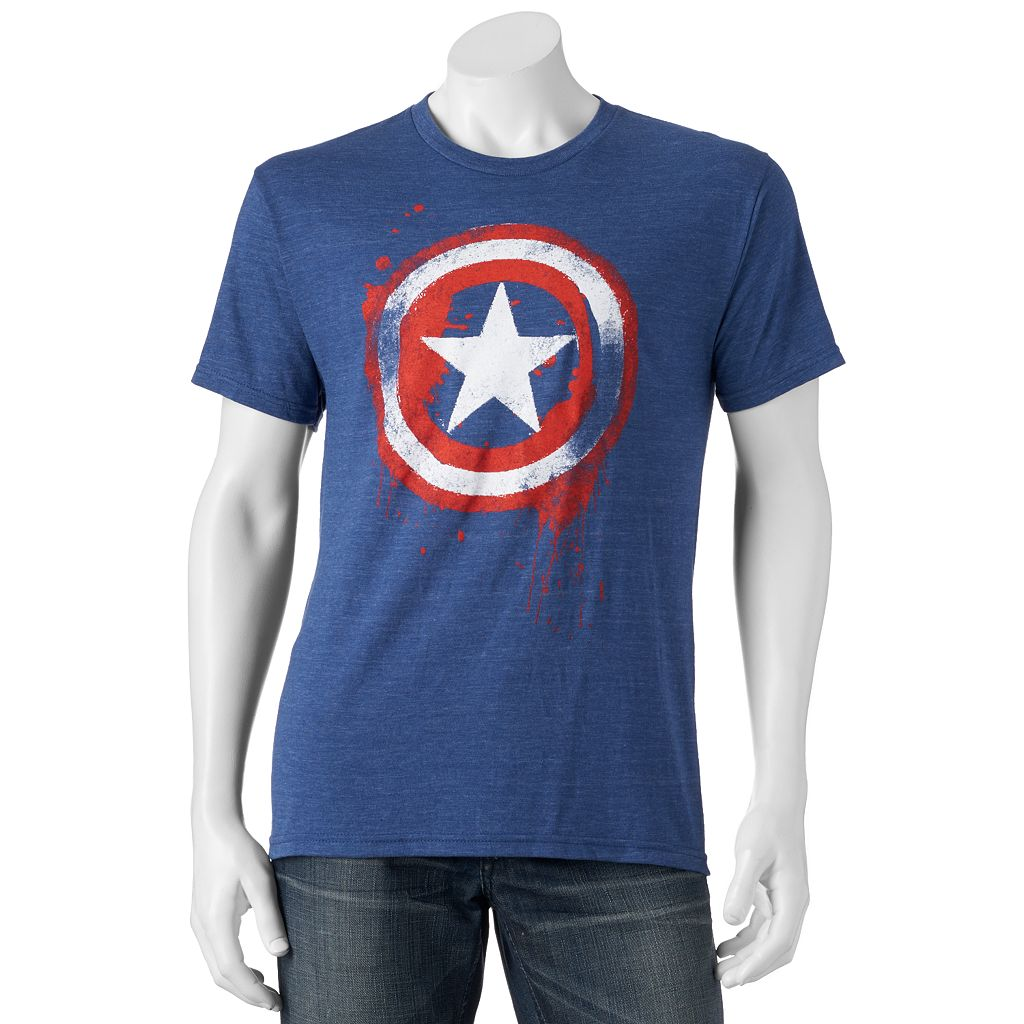 Men's Marvel Captain America Shield Tee