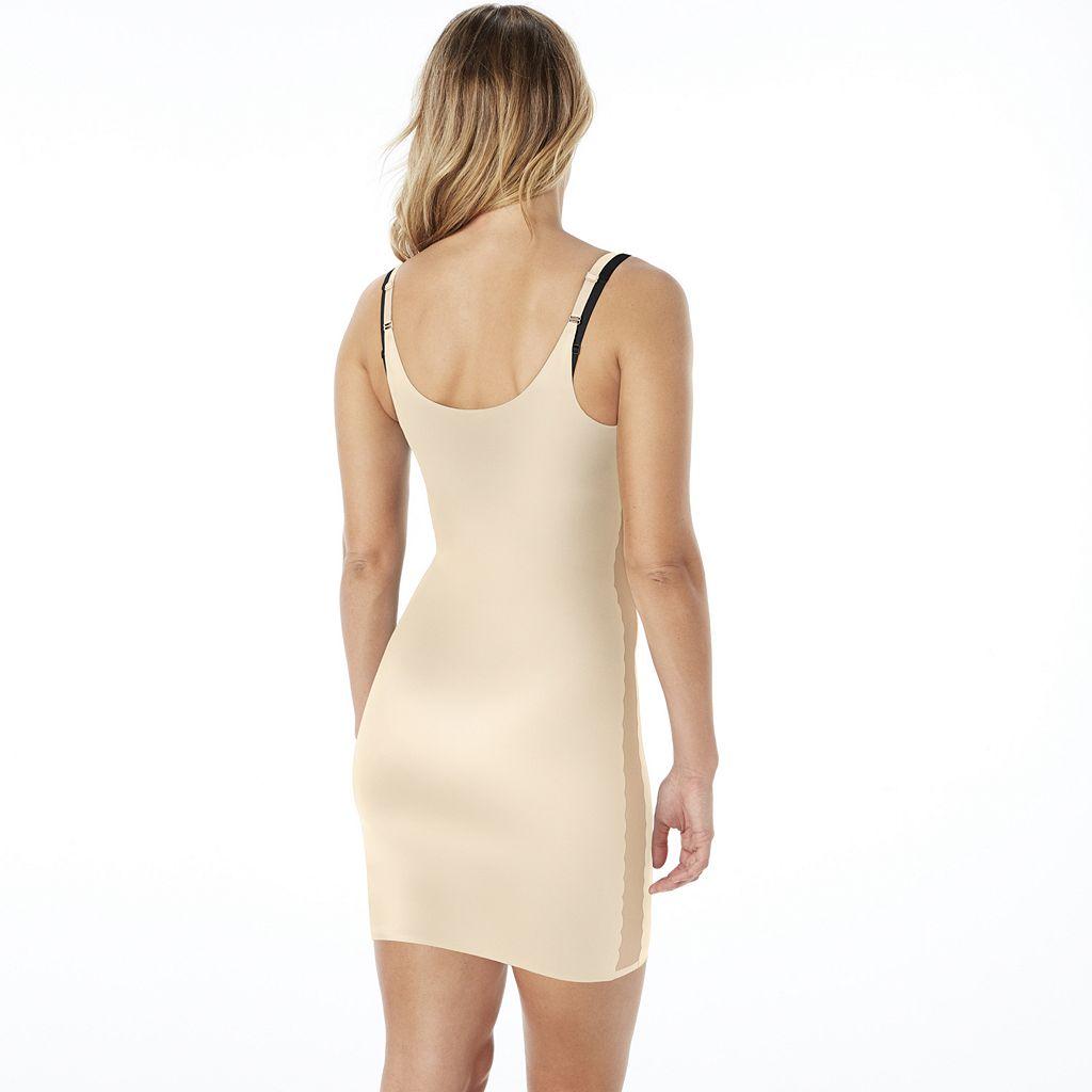 Red Hot by Spanx Luxe & Lean Scalloped Open-Bust Full Slip FS3515 - Women's