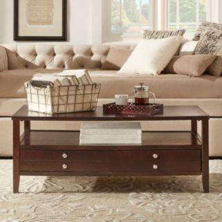 HomeVance Eastman 2-Drawer Coffee Table