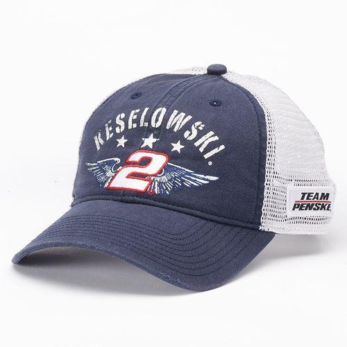 f5526059fac Adult NASCAR Brad Keselowski Adjustable Cap