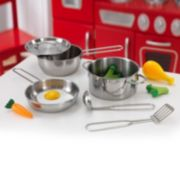 KidKraft Deluxe Play Cookware & Food Set
