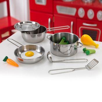 Kidkraft Deluxe Play Cookware Food Set