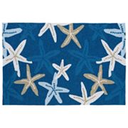 Kaleen Matira Starfish Indoor Outdoor Rug