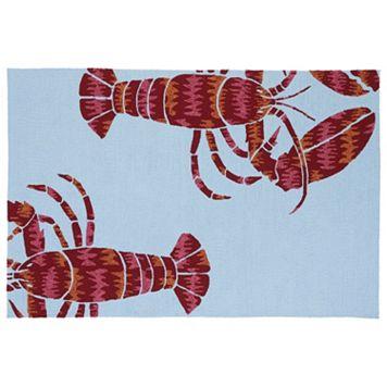 Kaleen Matira Lobster Indoor Outdoor Rug
