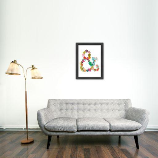 Americanflat Monogram Framed Wall Art