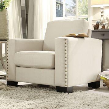 HomeVance Caldwell Arm Chair