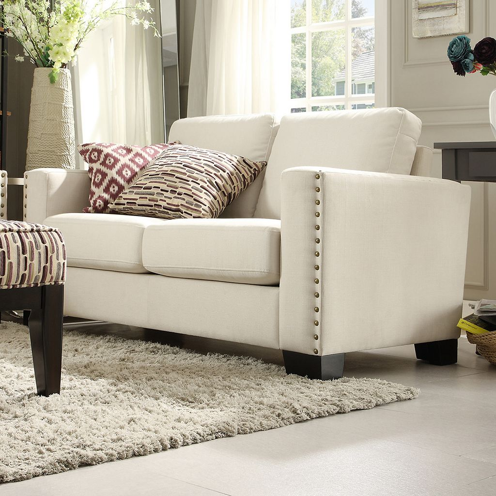 HomeVance Caldwell Loveseat Sofa