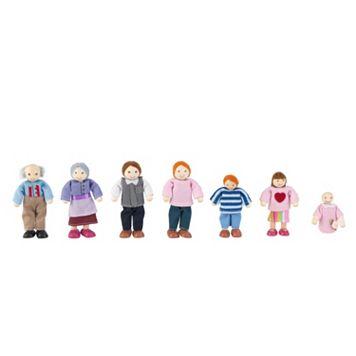 KidKraft 7-pc. Caucasian Family Doll Set