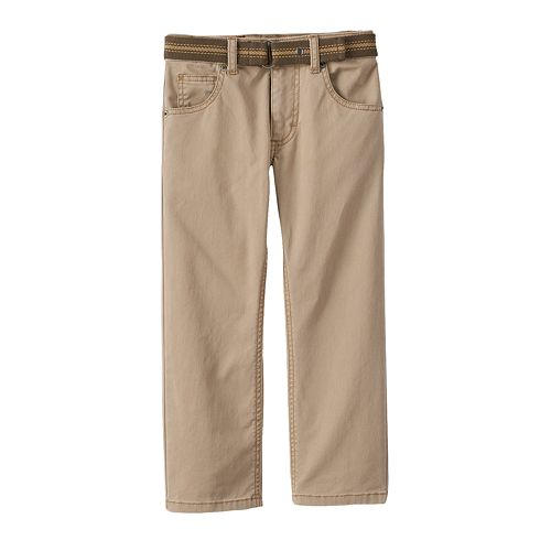 Boys 4-7x Lee Slim-Fit Twill Pants
