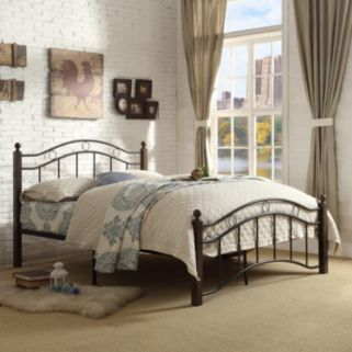 HomeVance Layton Platform Bed