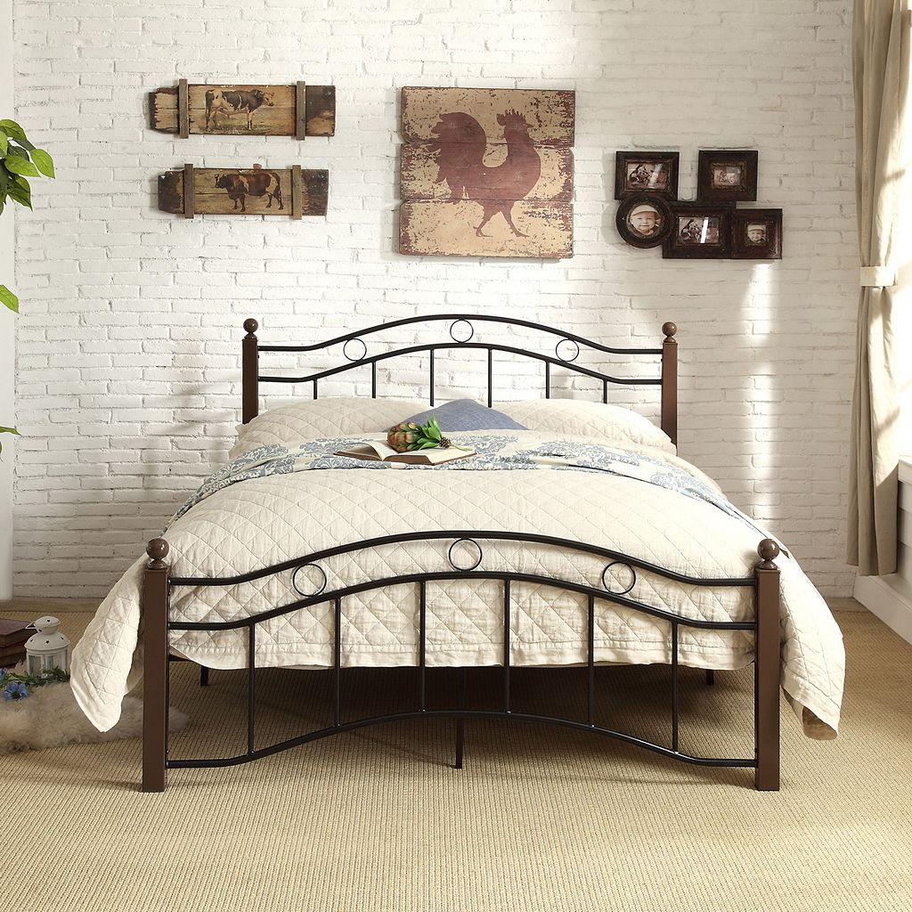 HomeVance Layton Platform Bed
