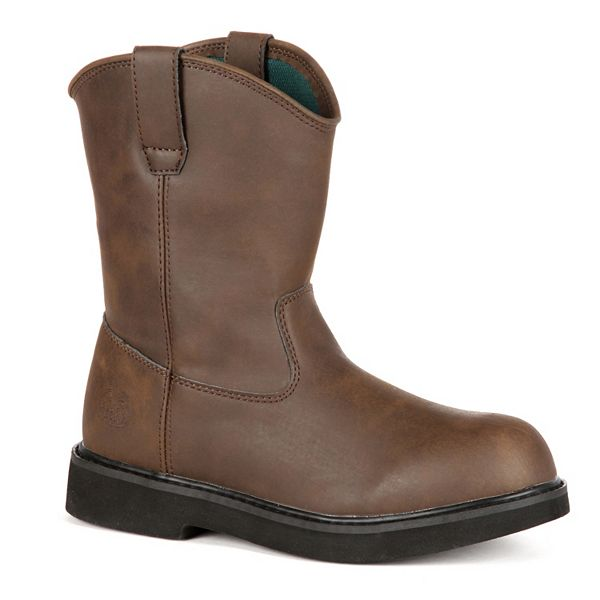 Georgia Boots Boys' Pull-On Boots