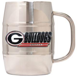 Georgia Bulldogs Stainless Steel Barrel Mug