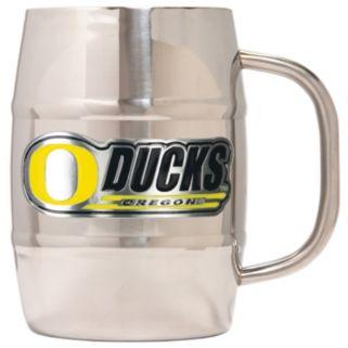 Oregon Ducks Stainless Steel Barrel Mug