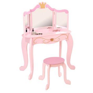 KidKraft Princess Vanity & Stool Set