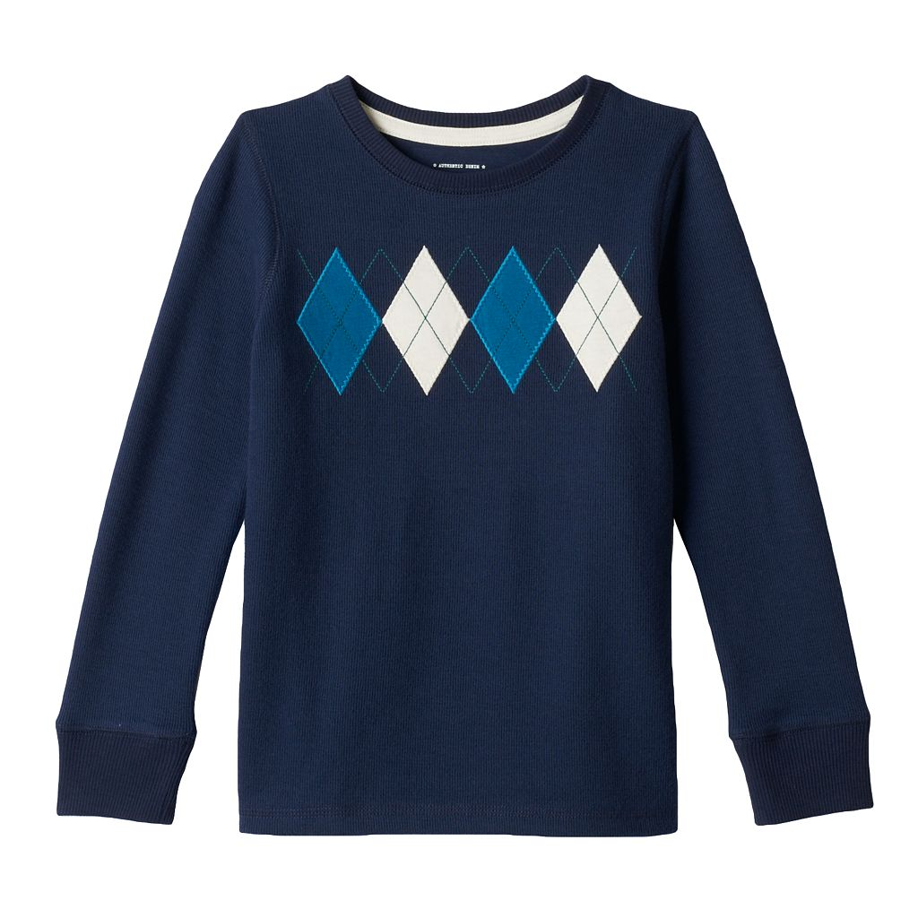 Boys 4-7x SONOMA Goods for Life™ Argyle Top