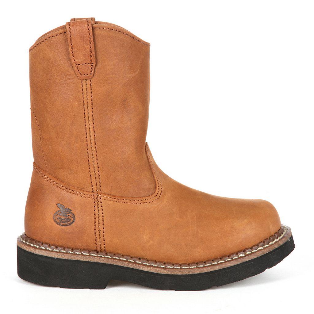 Georgia Boot Wellington Boys' Pull-On Boots